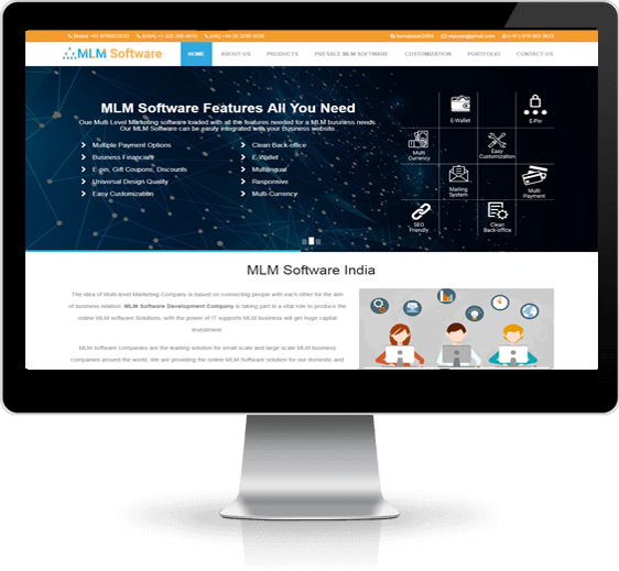 Readymade MLM Software Company, Product based MLM Software, Genealogy Software