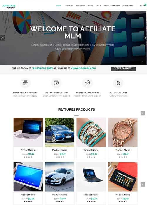 Readymade MLM Software Company, Product based MLM Software, Readymade script list